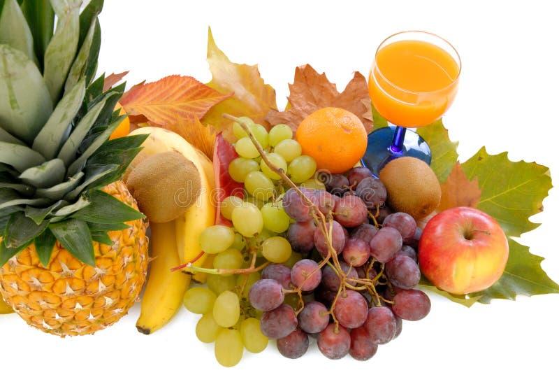 Frutta stagionale fresca fotografie stock libere da diritti