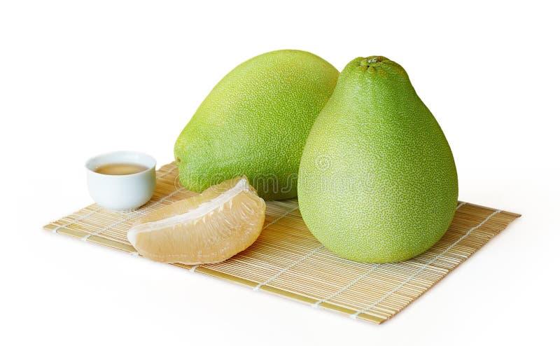 Frutta succosa fresca del pomelo immagine stock