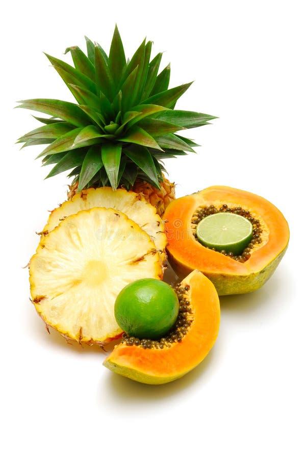 Frutta tropicale isolata fotografie stock libere da diritti