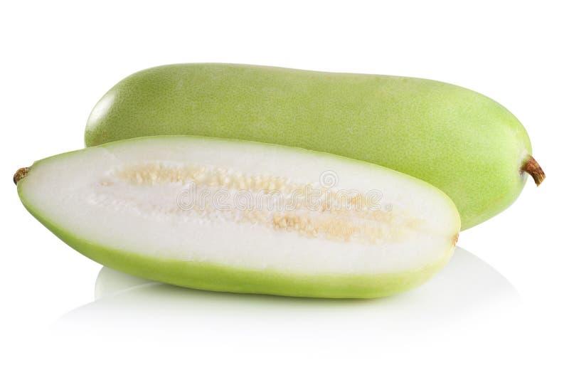 Download Frutta Vulgaris Di Lagenaria Isolata Su Fondo Bianco Fotografia Stock - Immagine di bianco, vitamine: 56876594