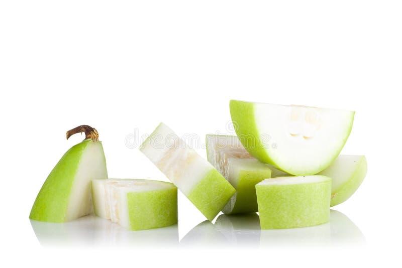 Download Frutta Vulgaris Di Lagenaria Isolata Su Fondo Bianco Immagine Stock - Immagine di grezzo, isolato: 56878743