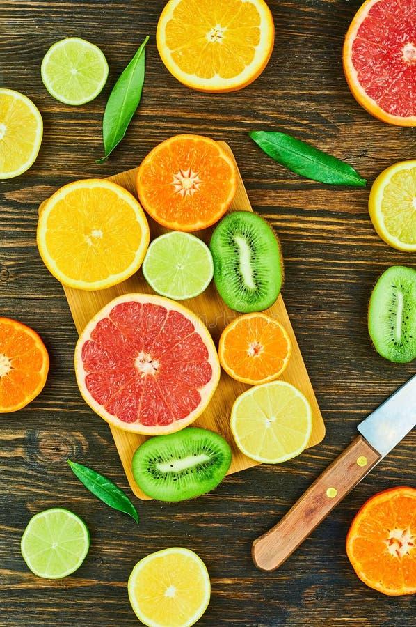 Frutti affettati fotografia stock libera da diritti