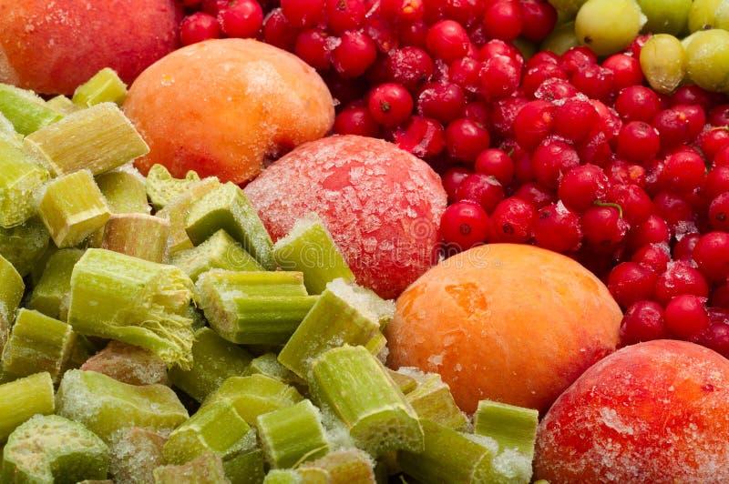 Frutti congelati fotografia stock