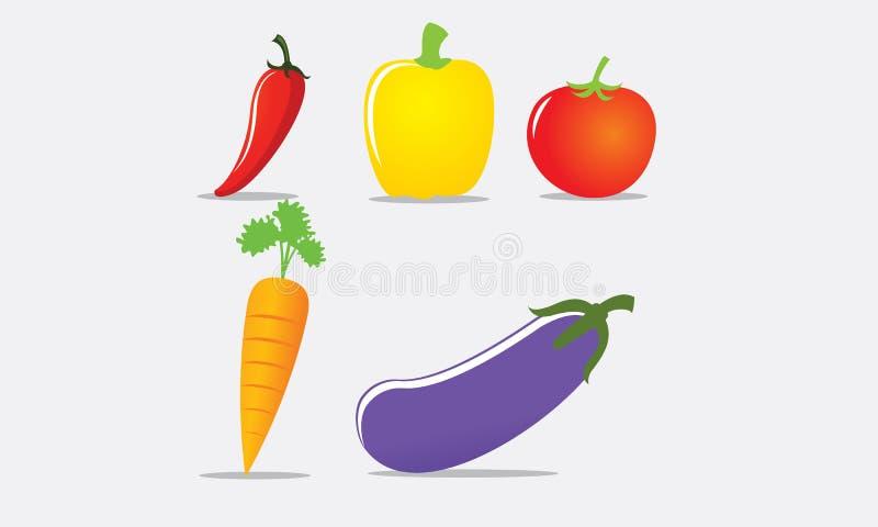 Frutti delle verdure quale la carota del pepe del pomodoro fotografia stock