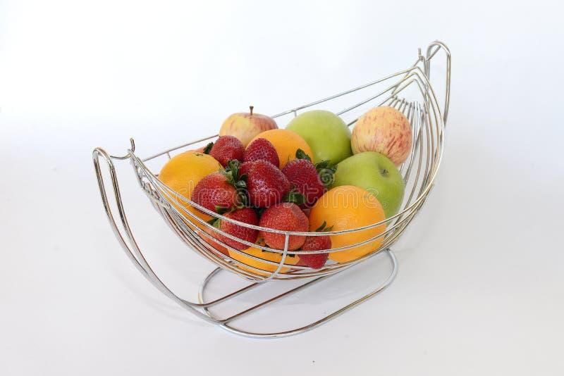 Frutti nel canestro immagini stock libere da diritti