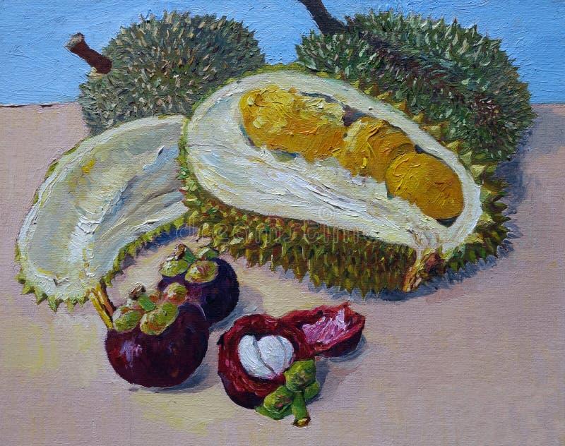 Frutti tropicali della Malesia royalty illustrazione gratis