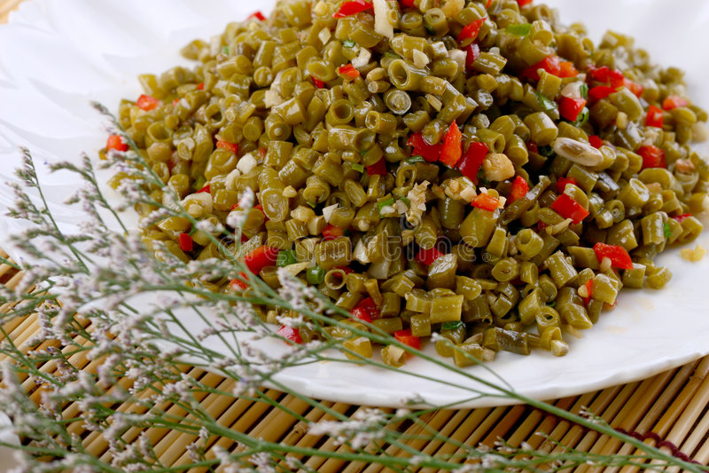 Fry asian food. Asian food. Stir fry of pork and vegetables stock photos