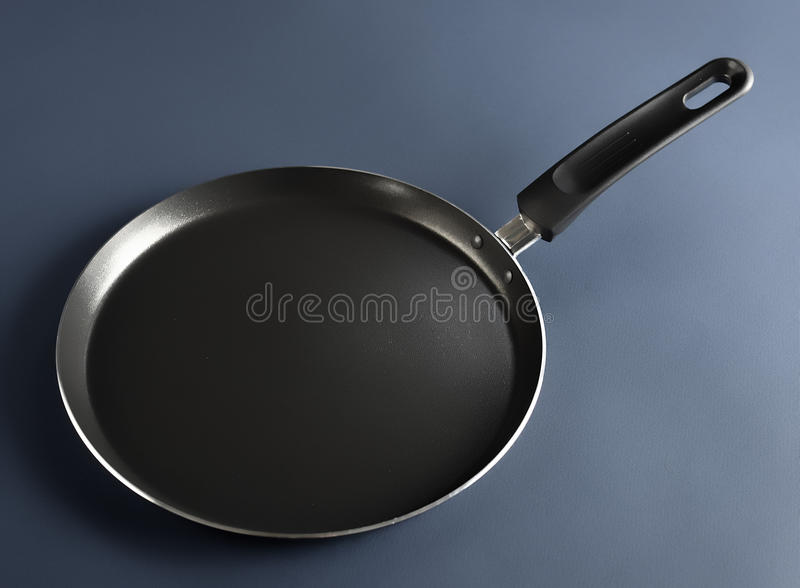 Fry pan, perfect for your pancakes stock image