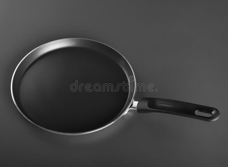 Fry pan, perfect for your pancakes. Fry pan, perfect for your delicious pancakes stock images