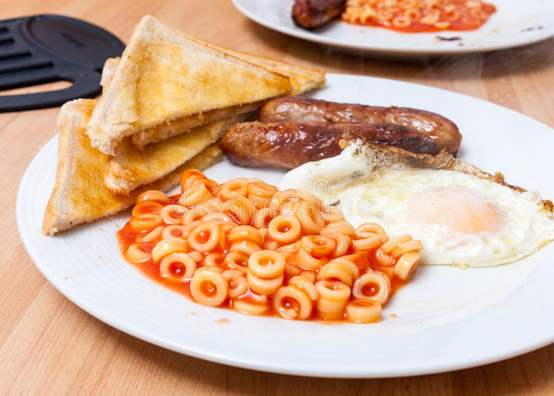 Fry-up royalty free stock images
