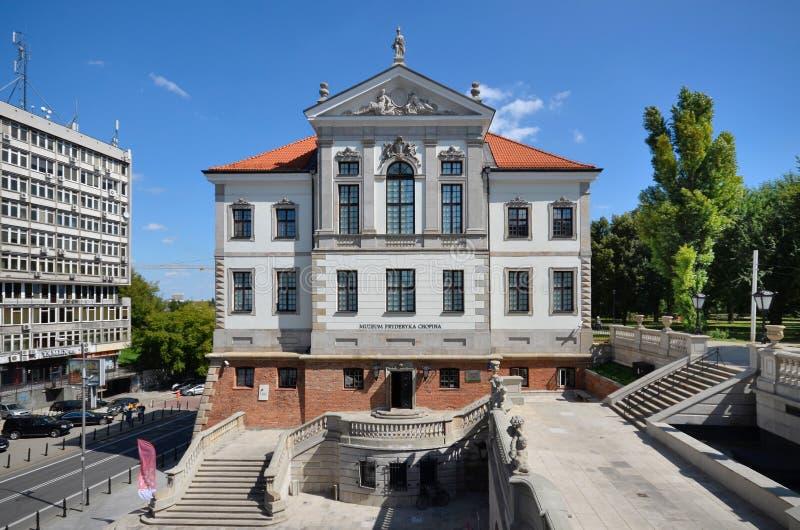 Fryderyk Chopin Museum (castelo de Ostrogski) em Varsóvia (Polônia) imagem de stock royalty free