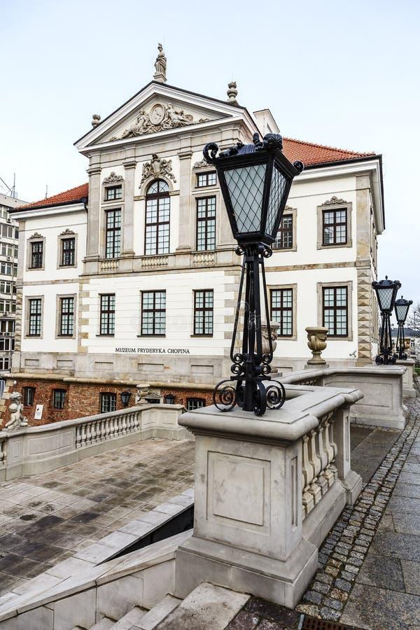 Fryderyk Chopin Museum, Varsóvia, Polônia fotos de stock royalty free