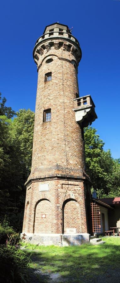 Frydlant Aussichtkontrollturm lizenzfreie stockbilder