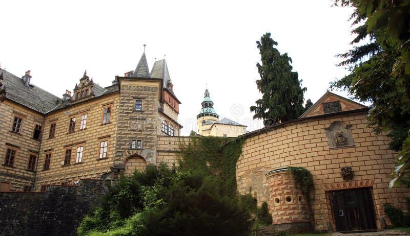 Frydlant castle in Czech Republic, Czechia. Frydlant, medieval fortress, castle in north of Czech Republic, Czechia royalty free stock photography