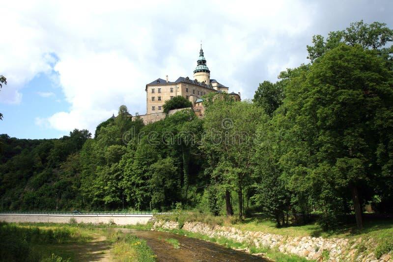 Frydlant castle in Czech Republic, Czechia. Frydlant, medieval fortress, castle in north of Czech Republic, Czechia stock image
