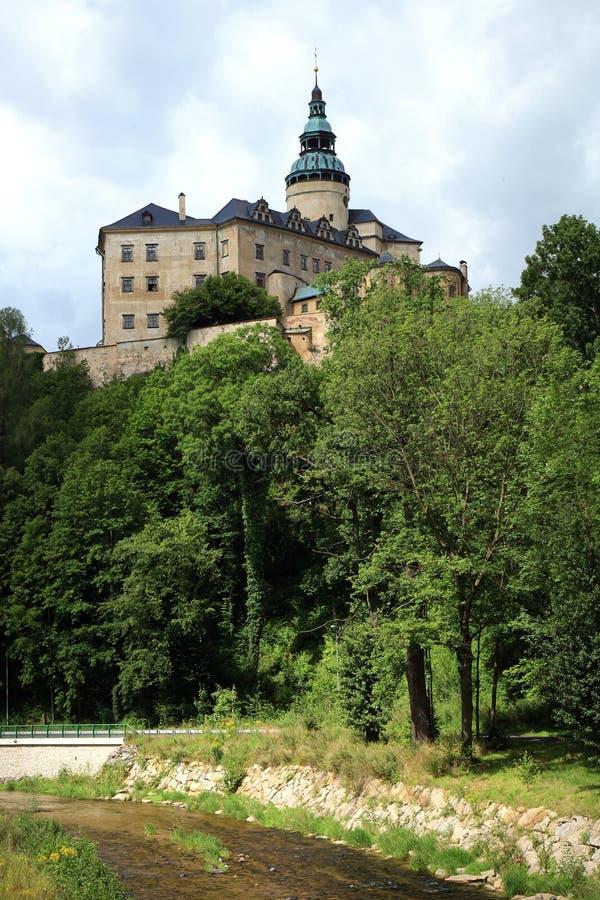 Frydlant castle in Czech Republic, Czechia. Frydlant, medieval fortress, castle in north of Czech Republic, Czechia royalty free stock photos
