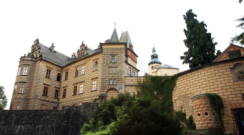 Frydlant castle in Czech Republic, Czechia. Frydlant, medieval fortress, castle in north of Czech Republic, Czechia royalty free stock image