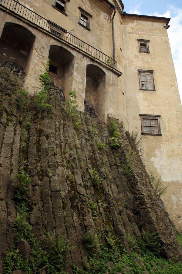 Frydlant castle in Czech Republic, Czechia. Frydlant, medieval fortress, castle in north of Czech Republic, Czechia stock photography