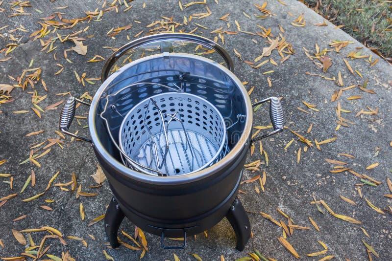Fryer de Turquia Elétrica Sem Óleo imagens de stock