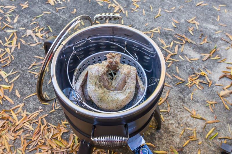 Fryer de Turquia Elétrica Sem Óleo foto de stock