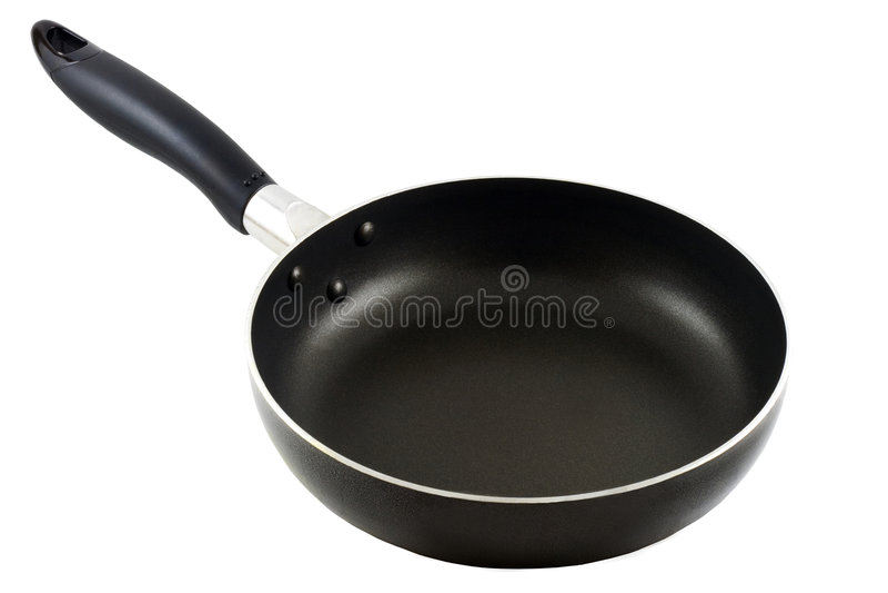 Frying Pan 2 royalty free stock photo