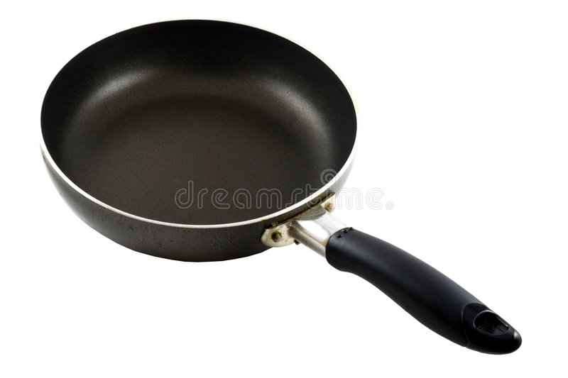 Download Frying Pan stock image. Image of coated, background, dirty - 5852601