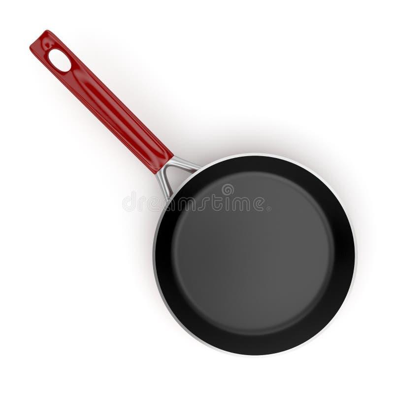 Frying pan stock illustration
