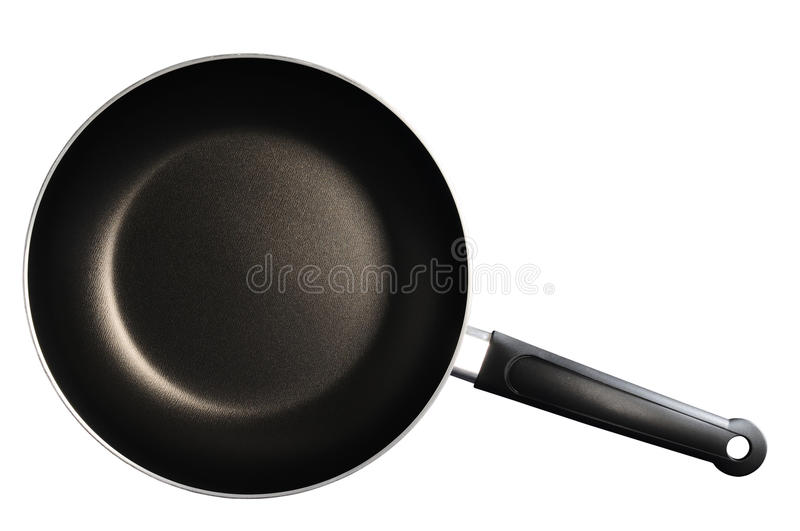 Download Frying Pan. Isolated Royalty Free Stock Photography - Image: 12204667