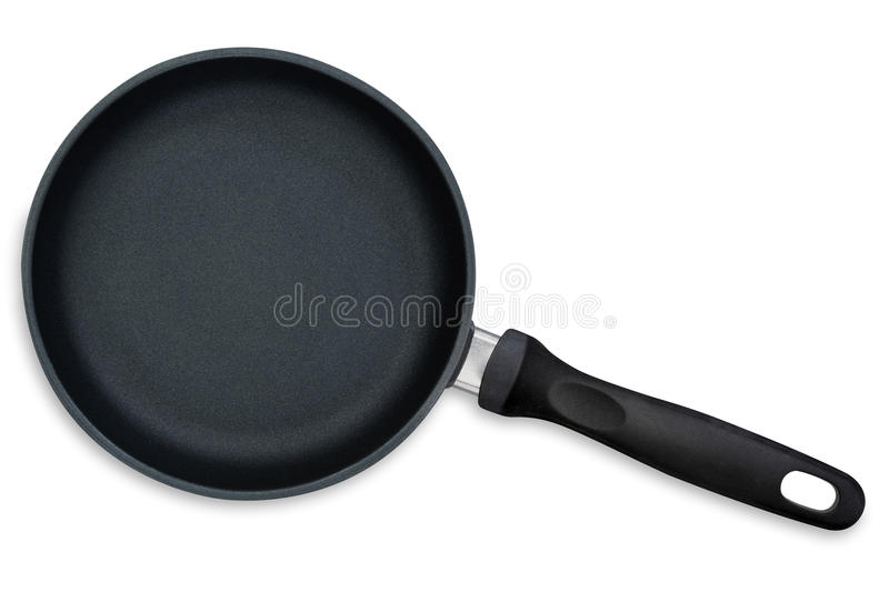 Download Frying Pan (with Path) stock photo. Image of empty, view - 14857244