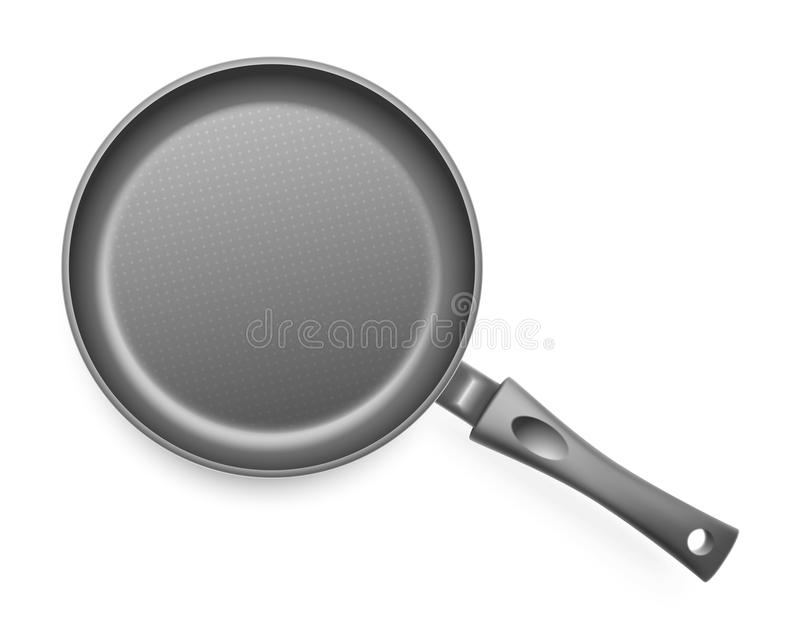 Frying pan. Vector illustration. This is file of EPS10 format royalty free illustration