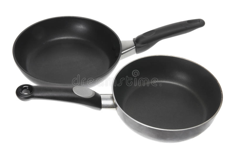 Download Frying Pans stock image. Image of still, stainless, isolated - 21799769
