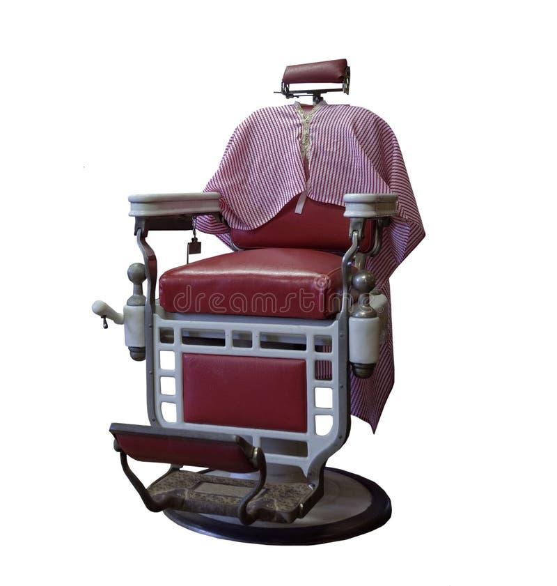 fryzjer męski krzesła zbliżenia rocznik zdjęcie royalty free