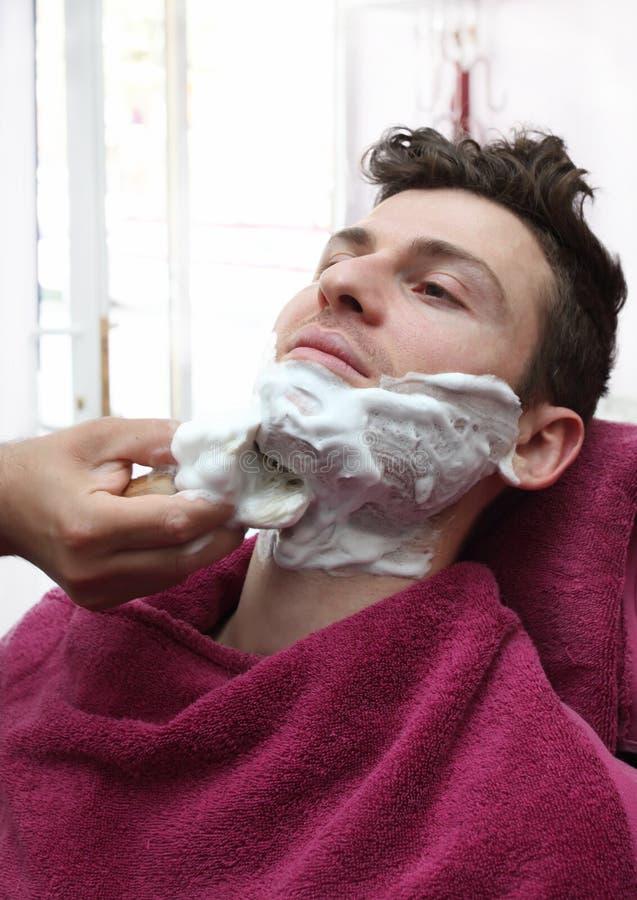 fryzjer męski mężczyzna portreta potomstwa obraz stock