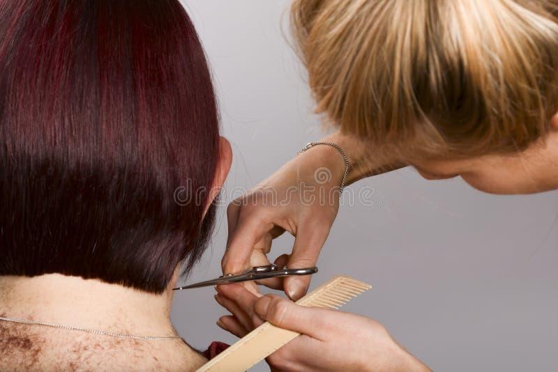 fryzjer praca obraz stock