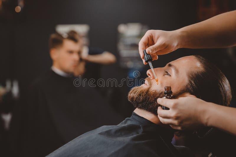 Fryzjera męskiego sklepu fryzjer zdjęcie royalty free