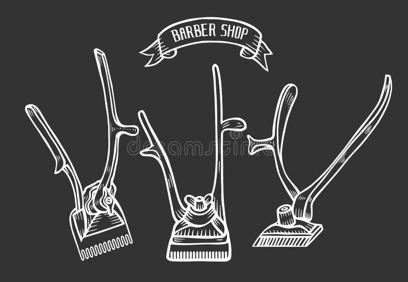 Fryzjera męskiego sklepu wektor ilustracja wektor