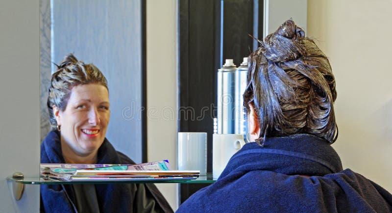 Fryzjera salon obrazy royalty free