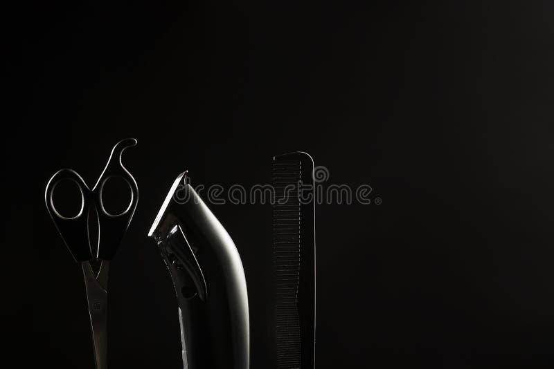 Fryzjerstw narzędzia obraz stock