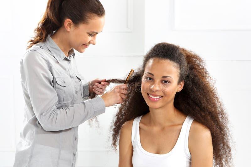 fryzjery zdjęcia stock