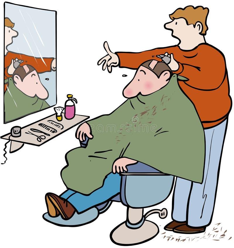 Fryzjery męscy royalty ilustracja