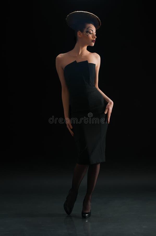 fryzury dyska kobieta obraz royalty free