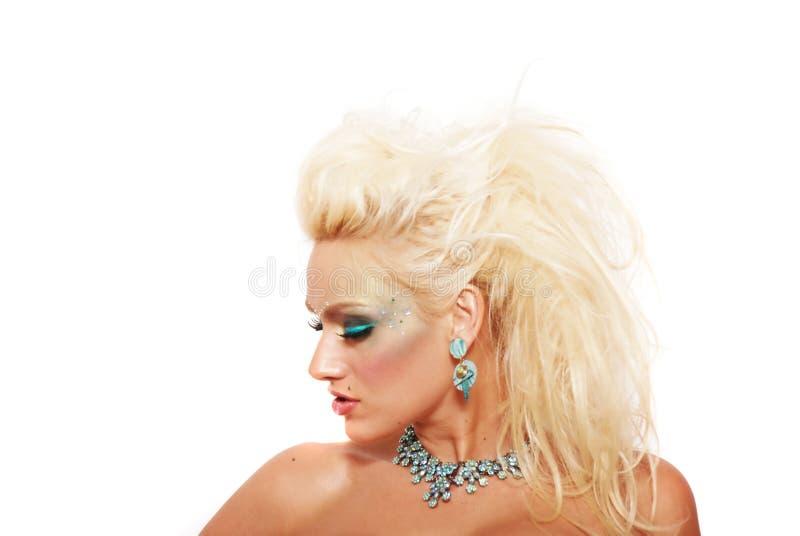 fryzury makeup zdjęcia stock