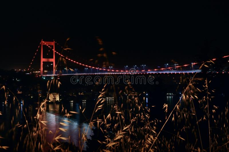 Fsm-bro Istanbul arkivfoton