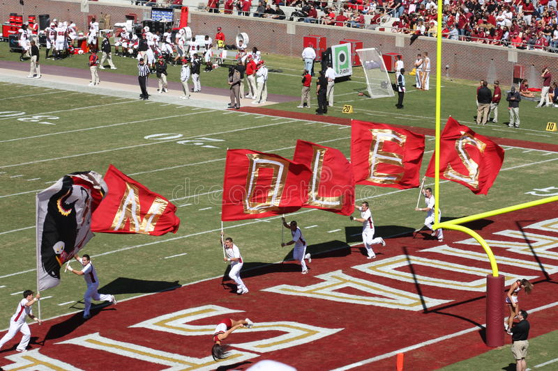 Download FSU Football editorial image. Image of touch, field, college - 21965405