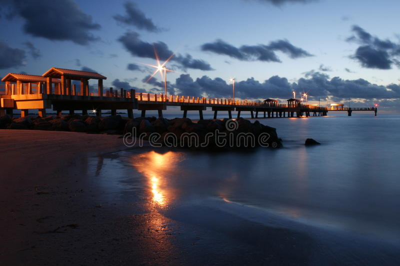 Download Ft. DeSoto Gulf Pier stock photo. Image of mexico, county - 14467582