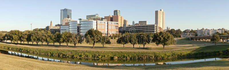 Ft di valore, il Texas (panoramico) fotografia stock