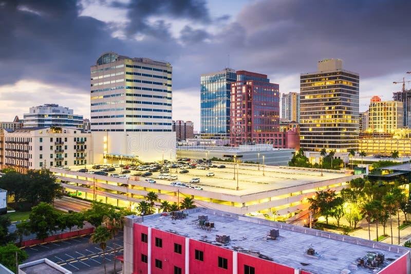 Ft Lauderdale, Floryda, Stany Zjednoczone Ameryki zdjęcia royalty free
