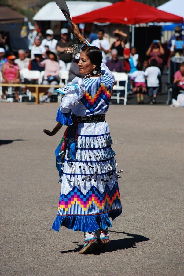 Ft Mcdowell, Arizona, Kwiecień 5, 2014, usa Pow no! no! świętowanie, edi obraz royalty free