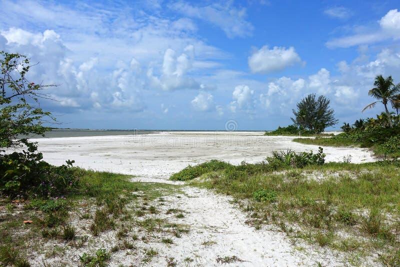 Ft Myers Beach Landscape, FL U.S.A. fotografie stock libere da diritti