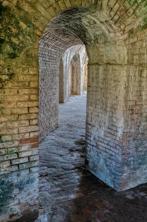 Free Ft. Pickens Interior Stock Photography - 129684612